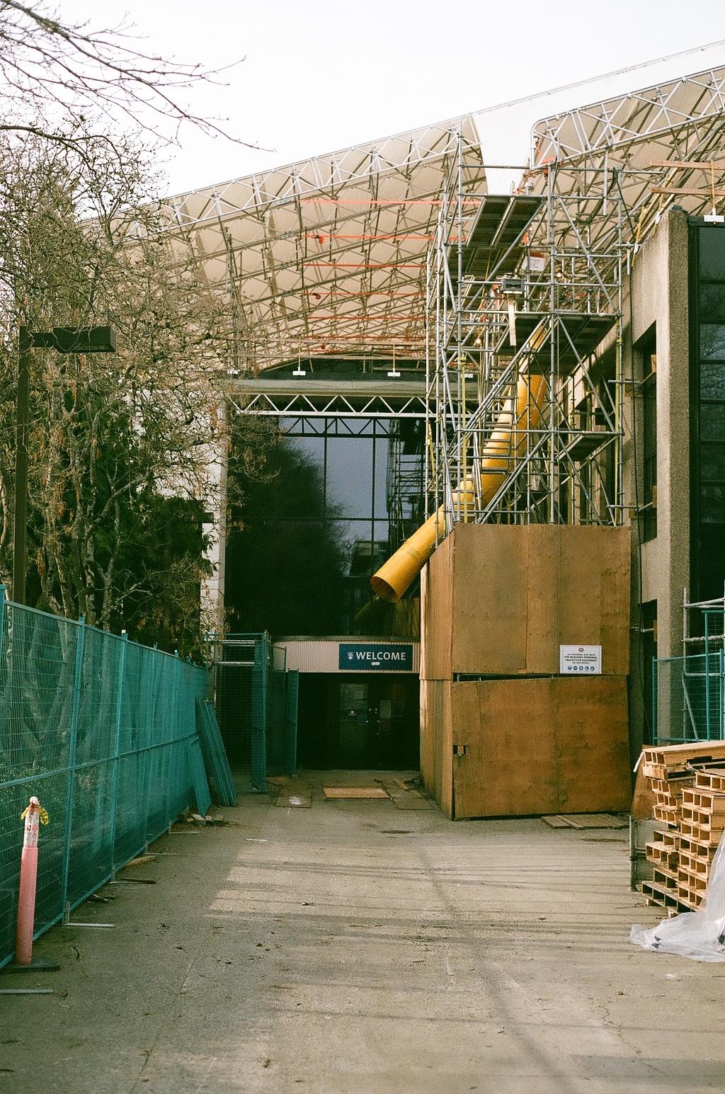 Brock Hall Under Construction