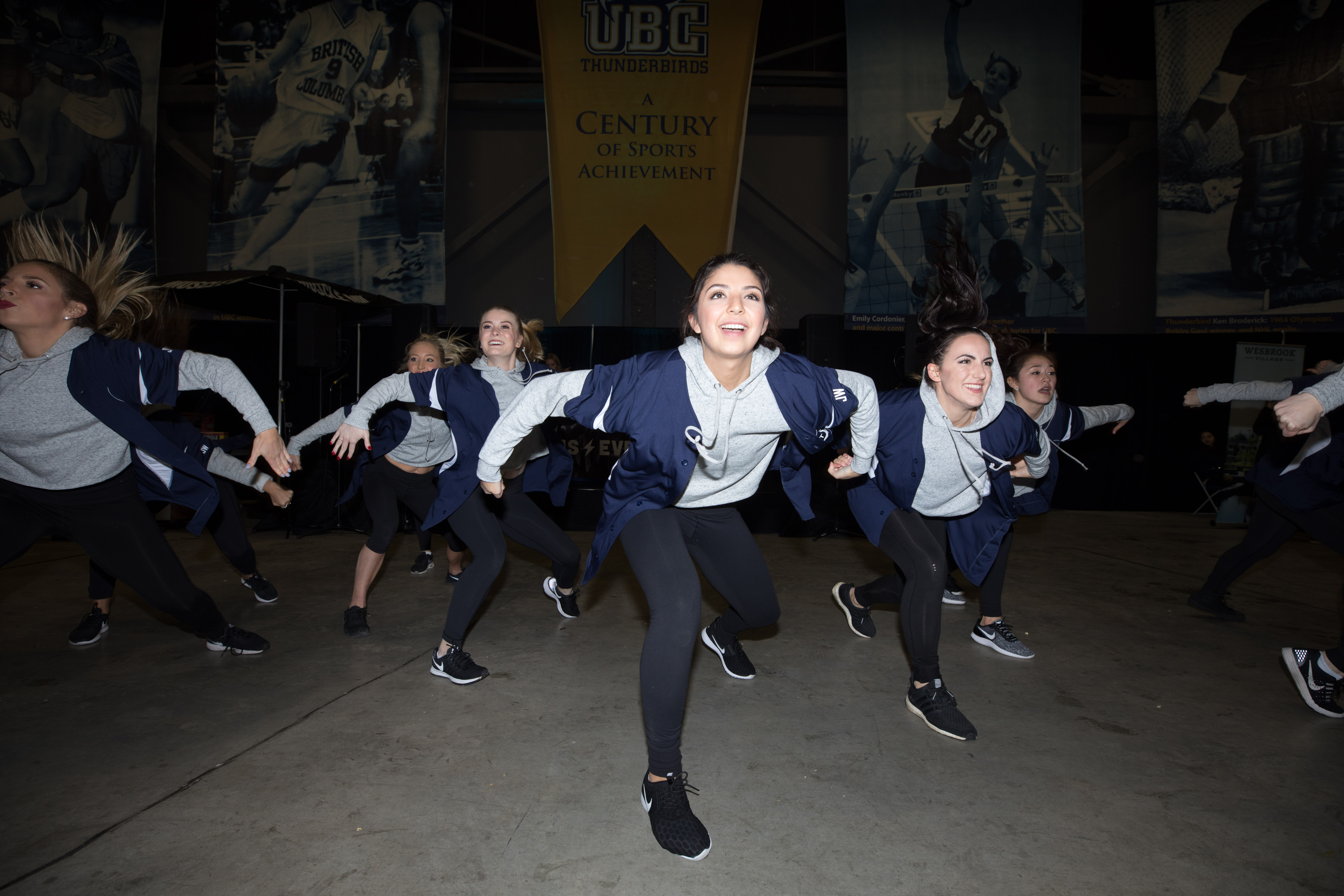 Dance team at winter classic