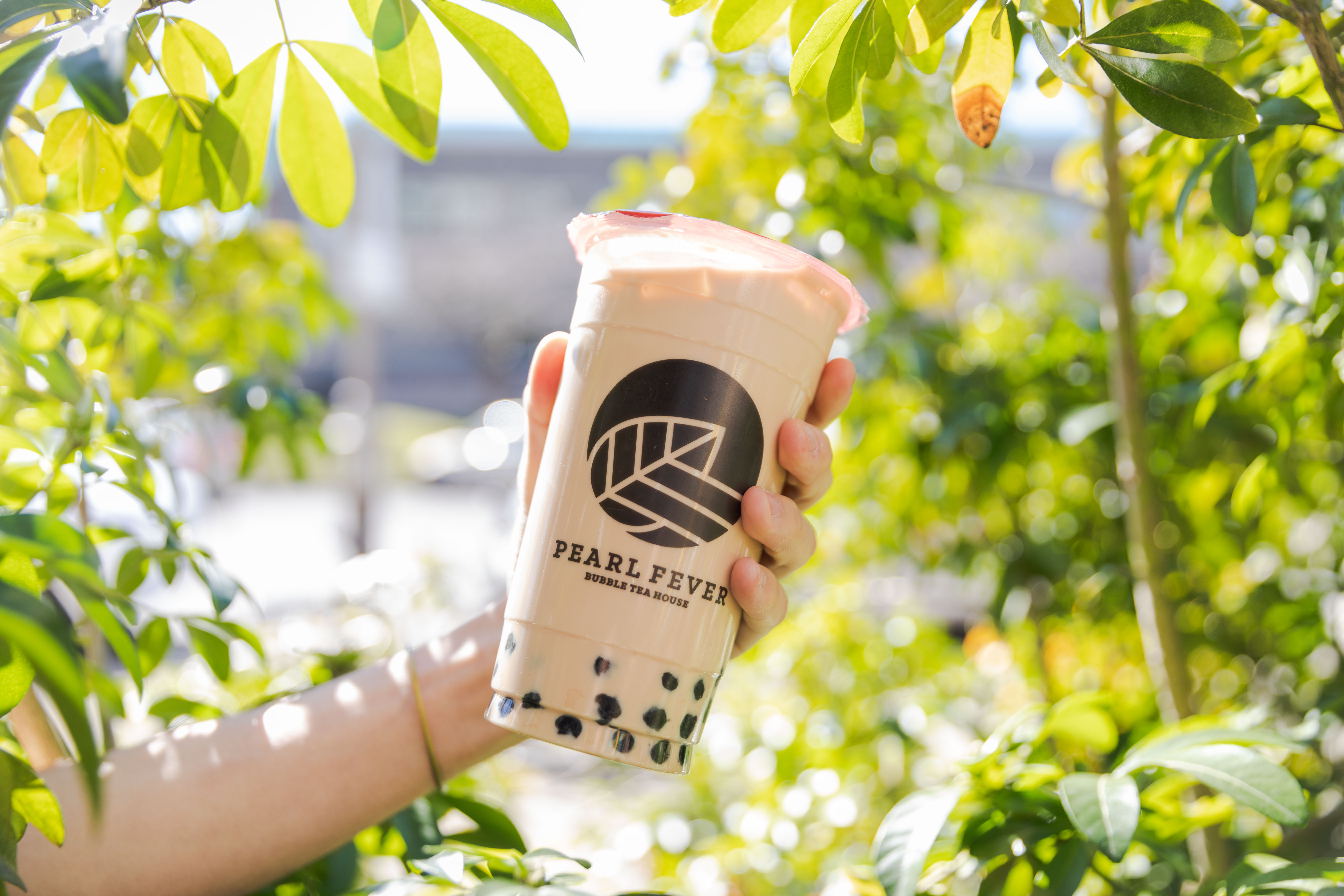 Pearl fever milk tea