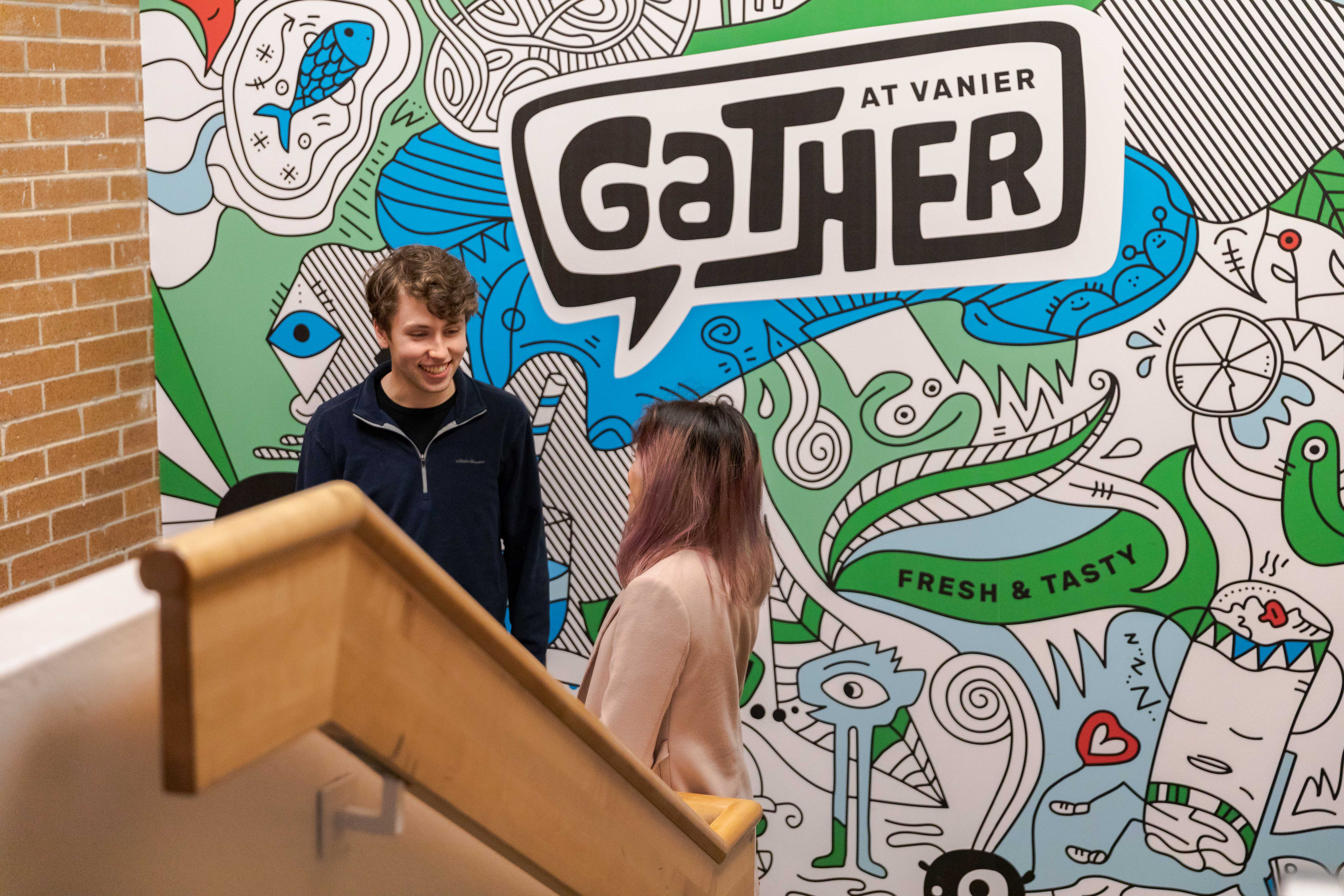 gather mural
