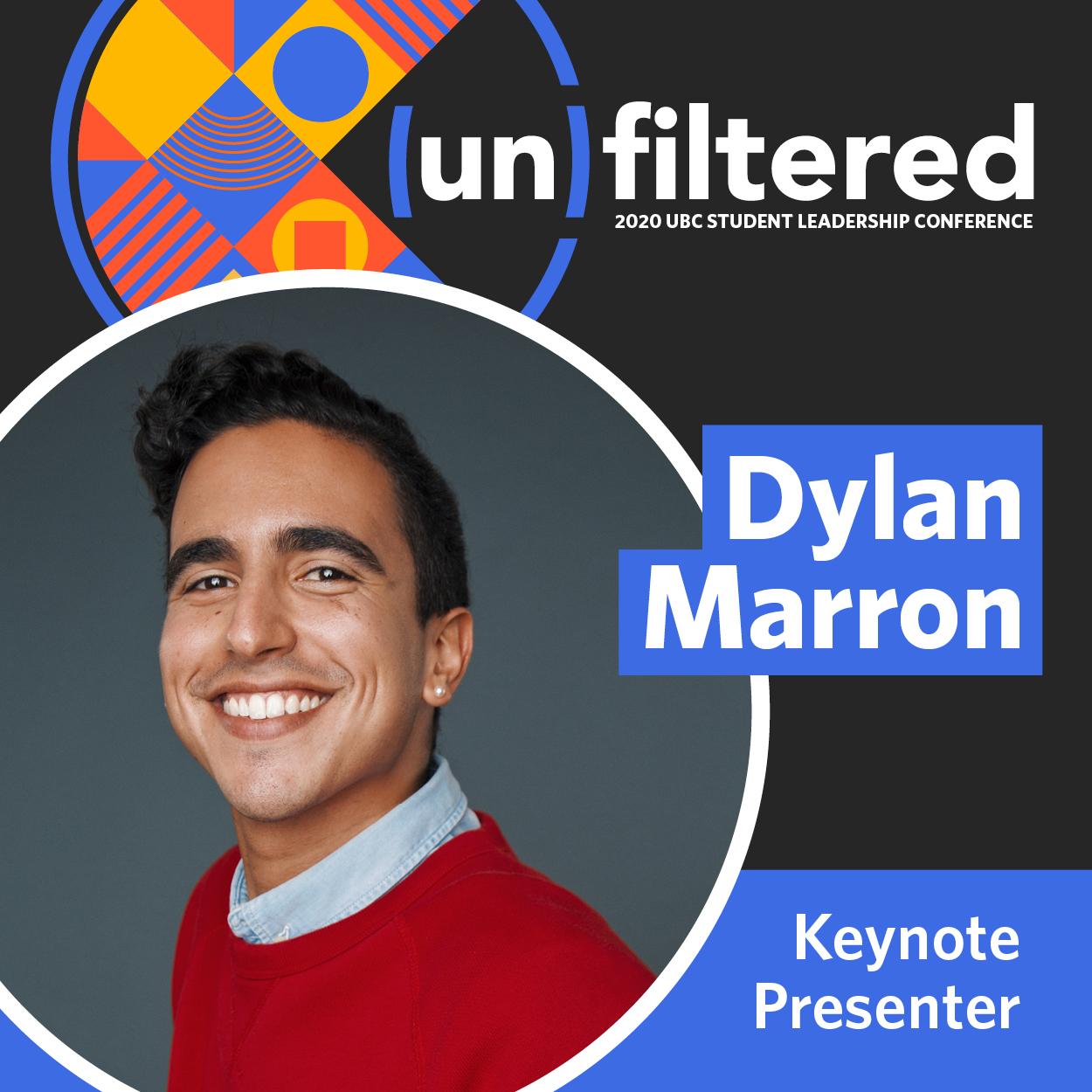 2020 SLC Keynote Presenter Dylan Marron