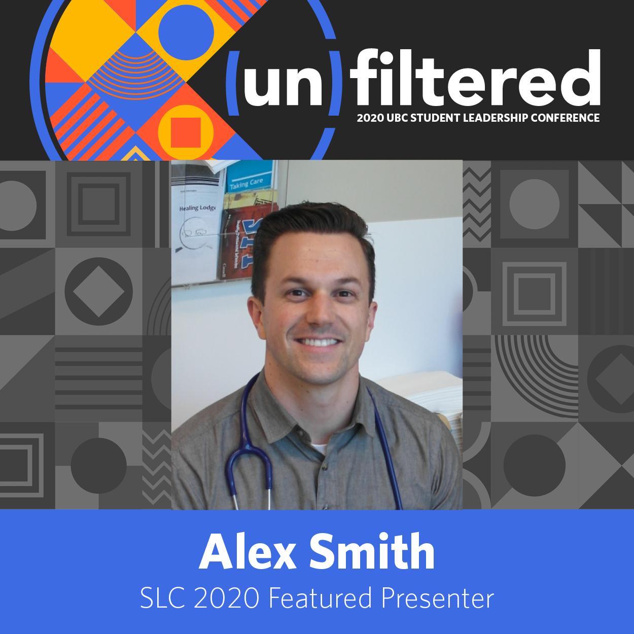 Alex Smith Featured Presenter