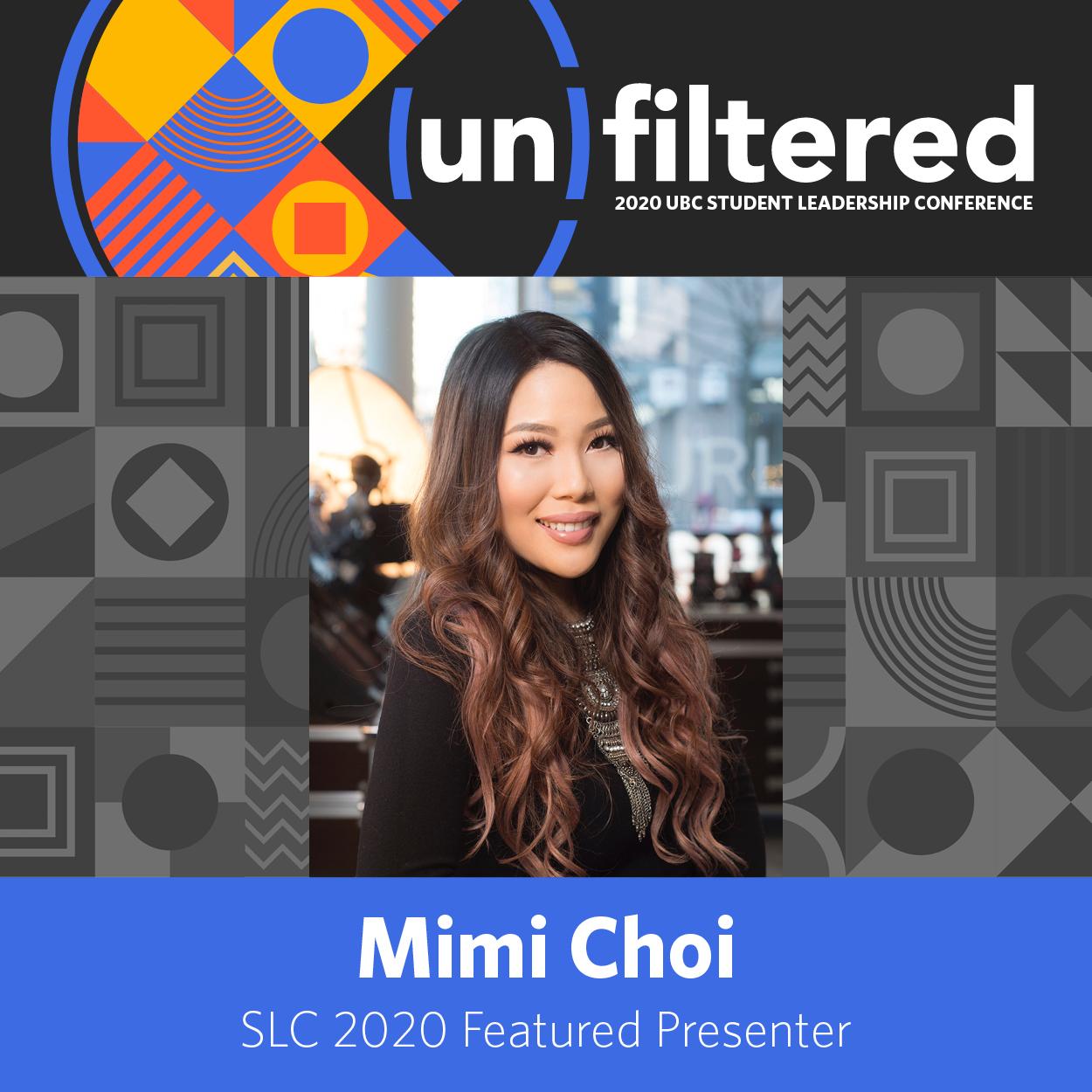 SLC 2020 Featured Presenter Mimi Choi