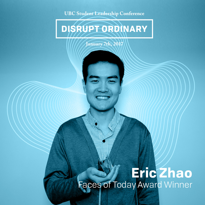 Faces of Today Award Winner - Eric Zhao