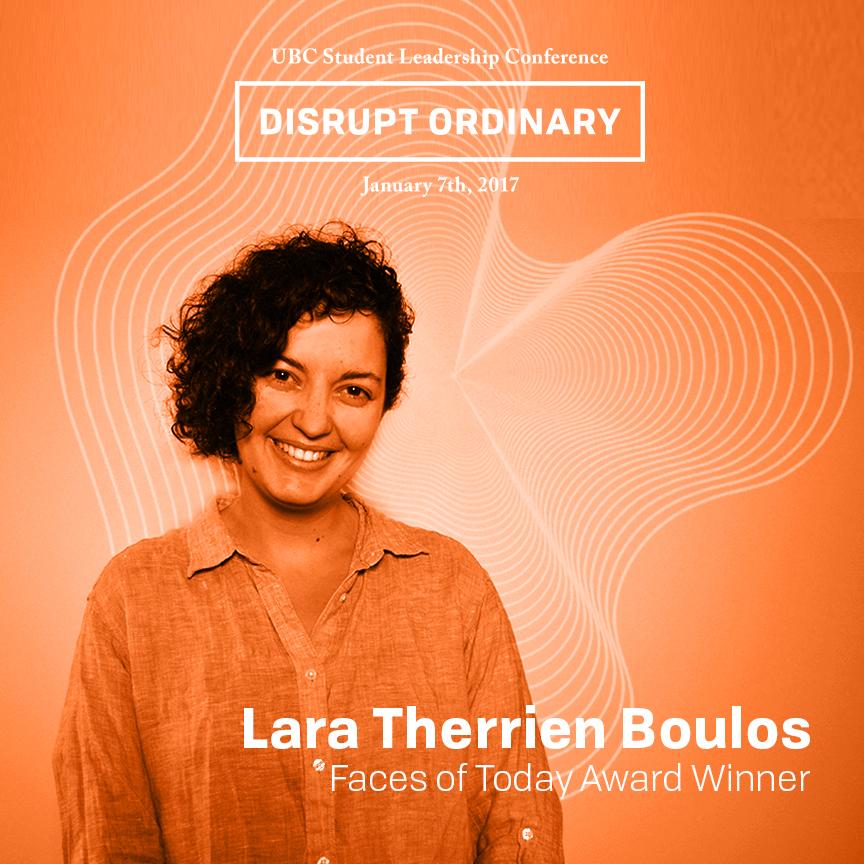 Faces of Today Award Winner - Lara Therrien Boulos