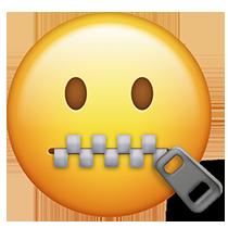Quiet emoji