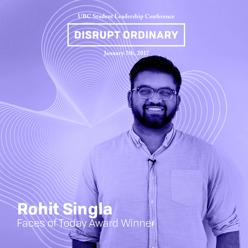 Faces of Today Award Winner - Rohit Singla