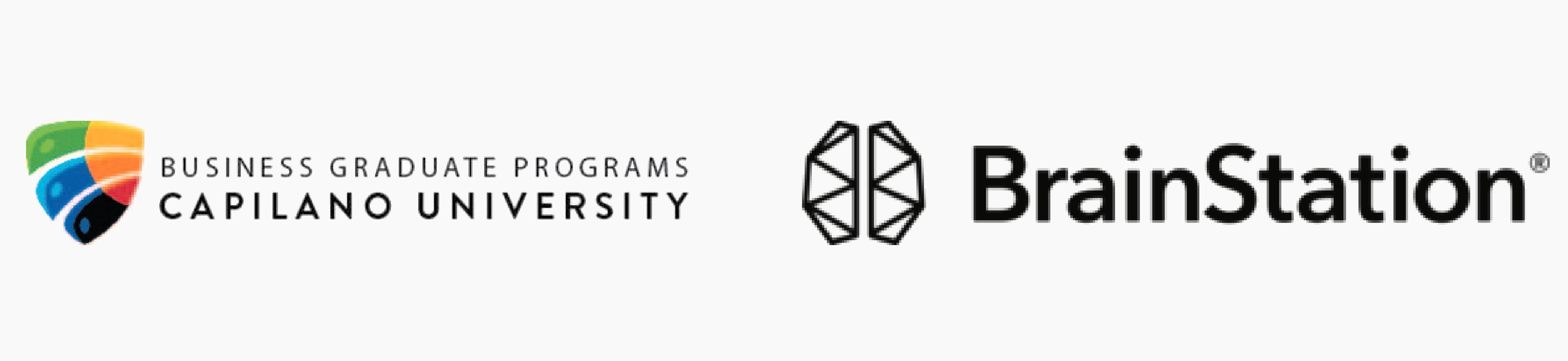 Grad Fair 2019 Platinum Sponsors - Capilano University, BrainStation
