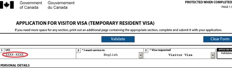 Tutorial: How to apply for a Temporary Resident Visa (TRV) from