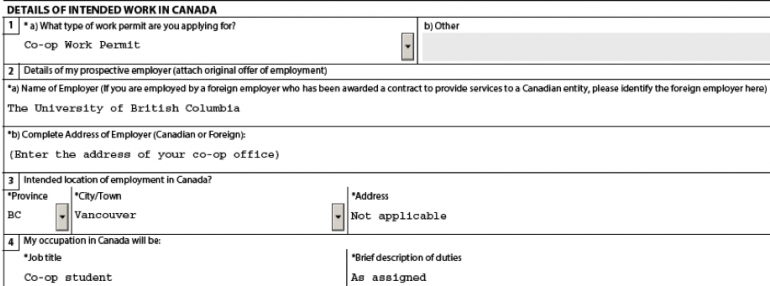Whole Foods Coop Application