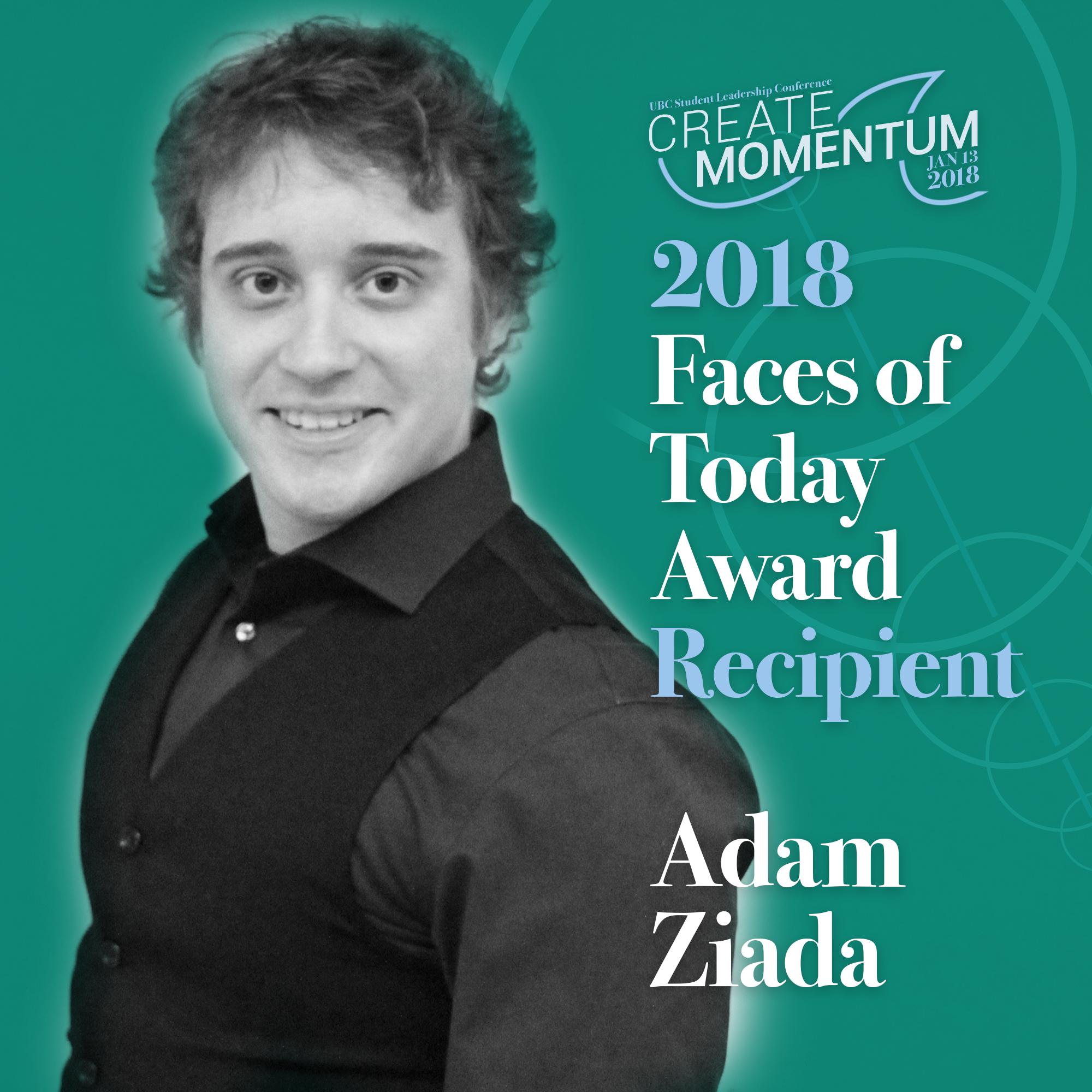 SLC Faces of Today Adam Ziada
