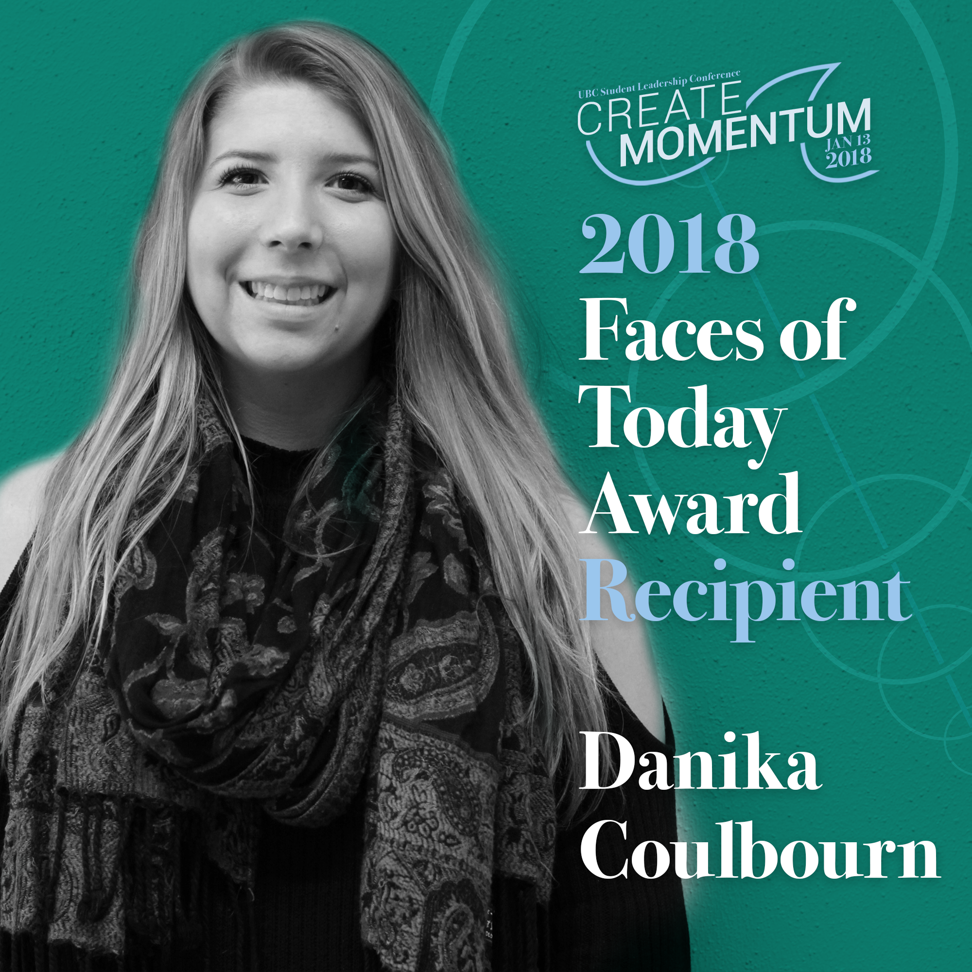 SLC Faces of Today Danika Coulbourn