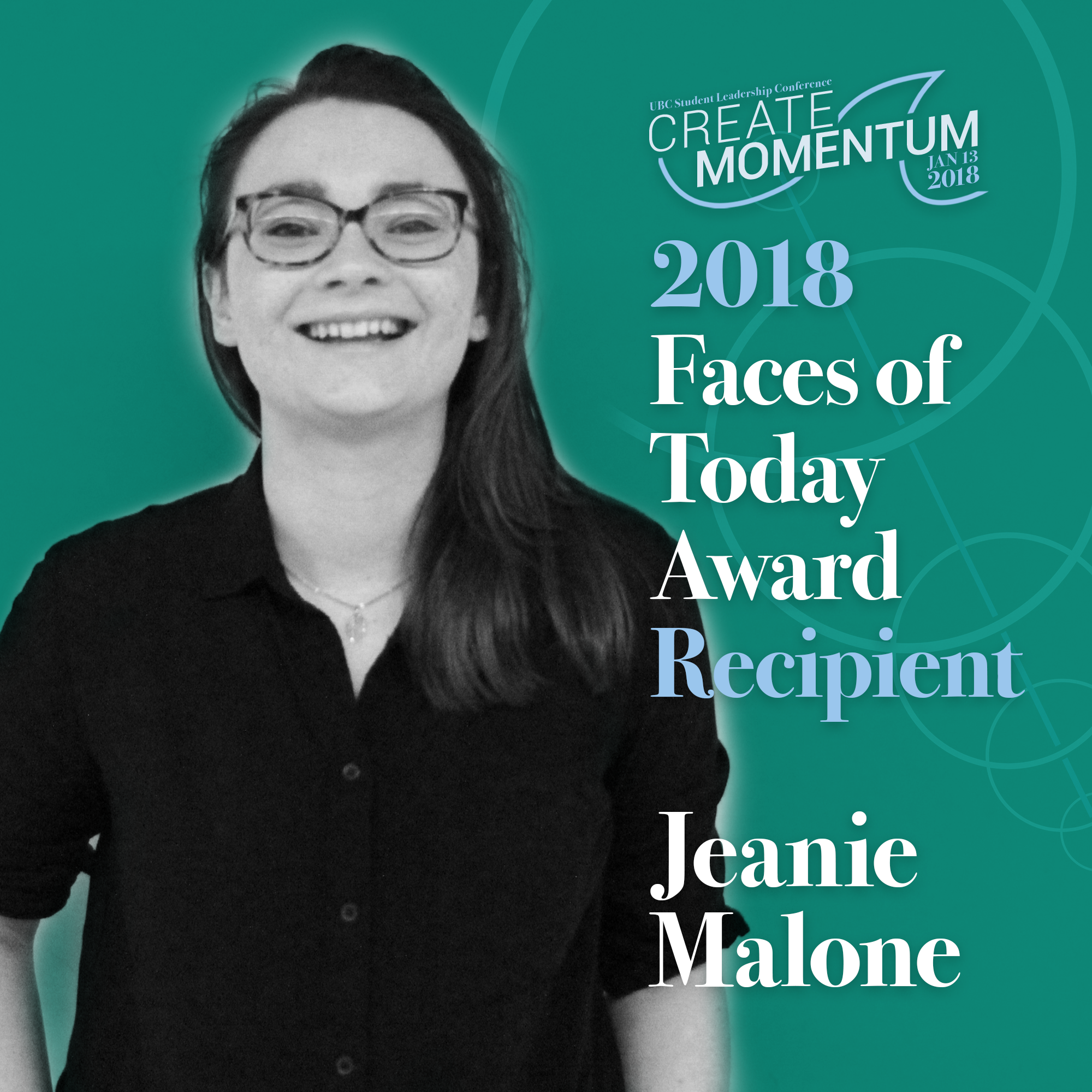 SLC Faces of Today Award - Jeanie Malone