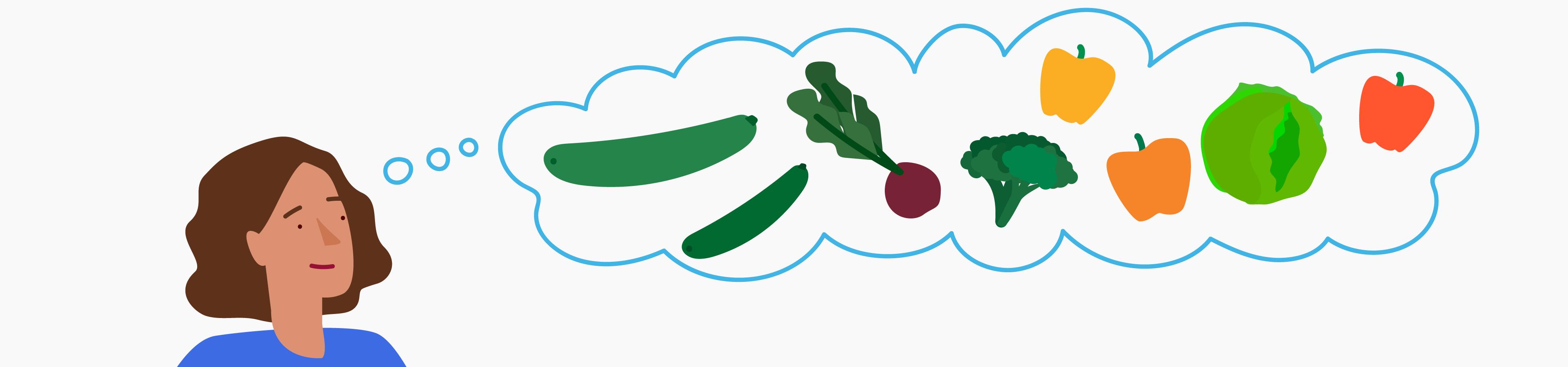 Veggie dreamin'