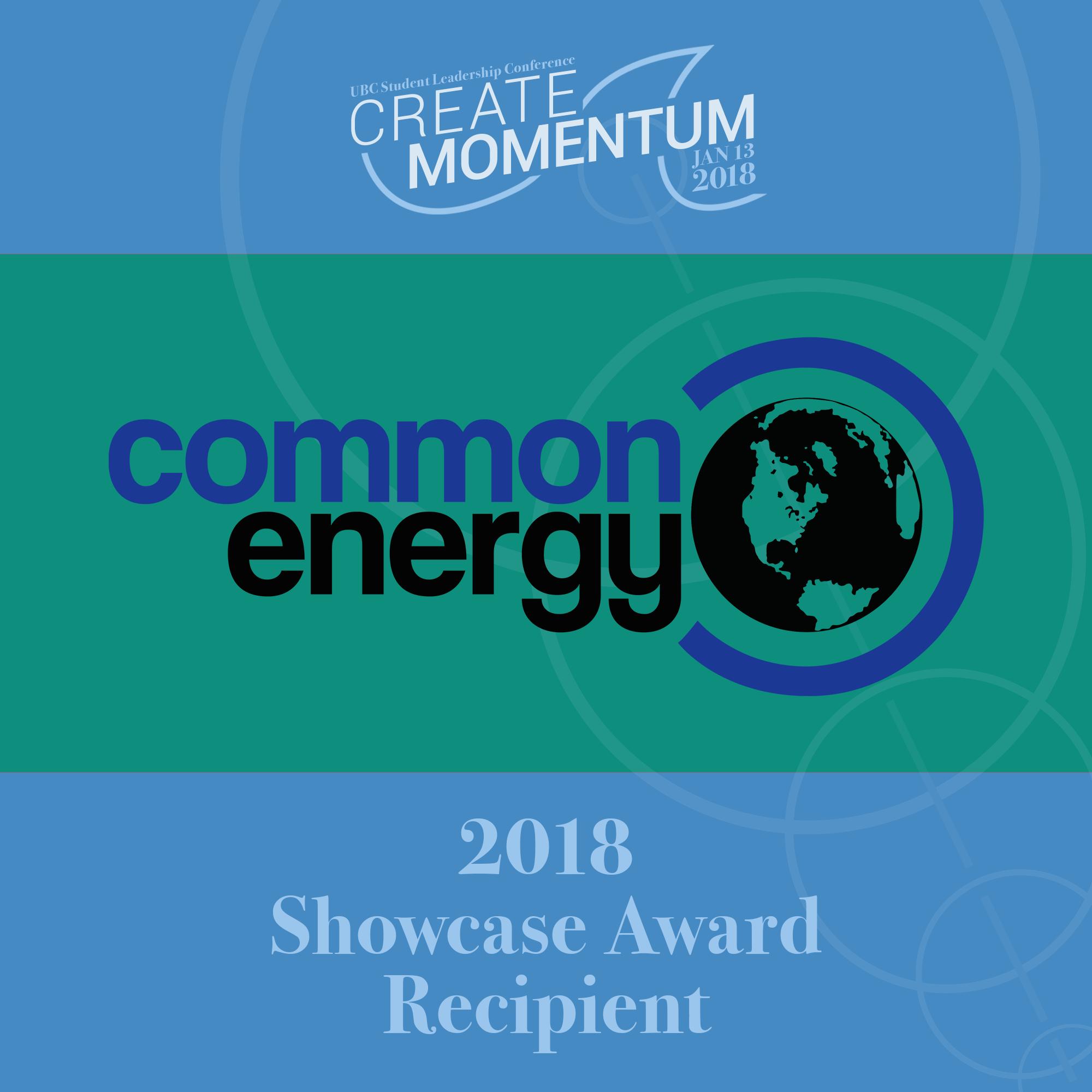 SLC Showcase Award Common Energy