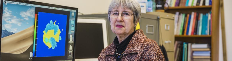 Portrait of professor Leah Keshet