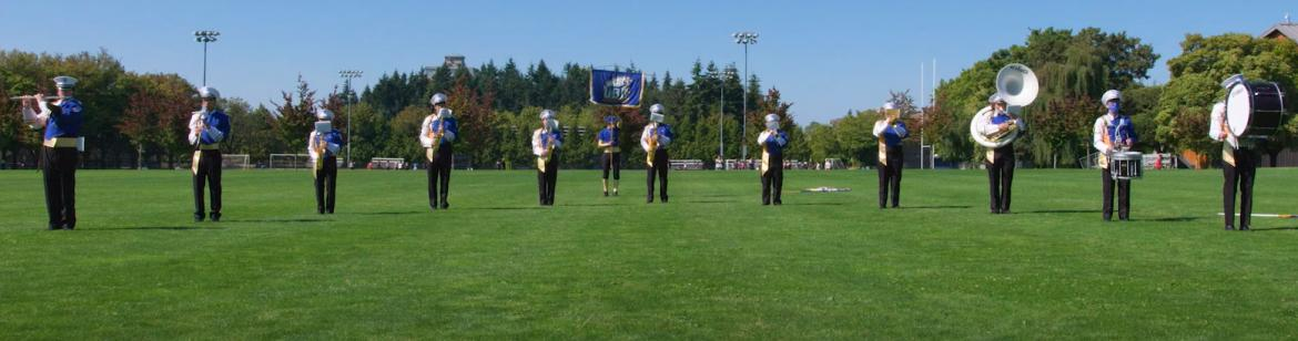 The Thunderbird Marching Band