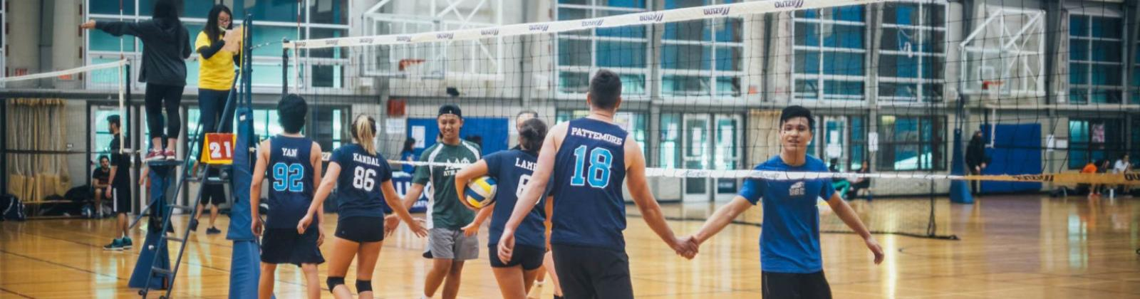 UBC Rec volleyball event
