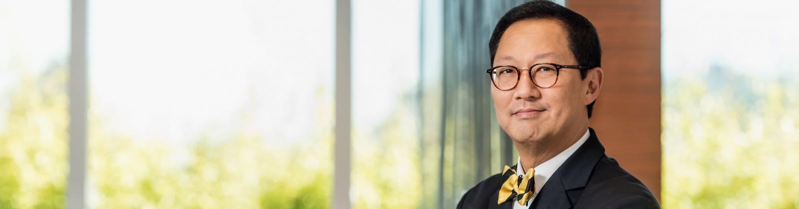 Professor Santa J. Ono