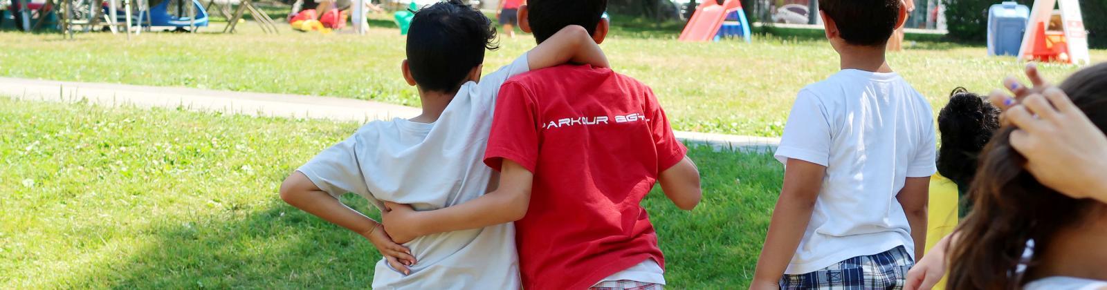 Students at BC Newcomer Camp