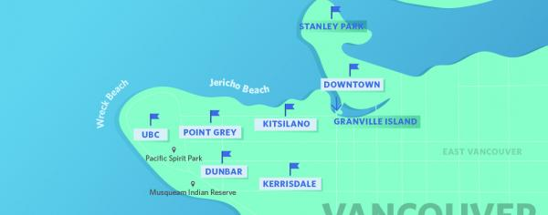 Moving to Vancouver for the first time? Start by getting to know the neighbourhoods that are popular with students!