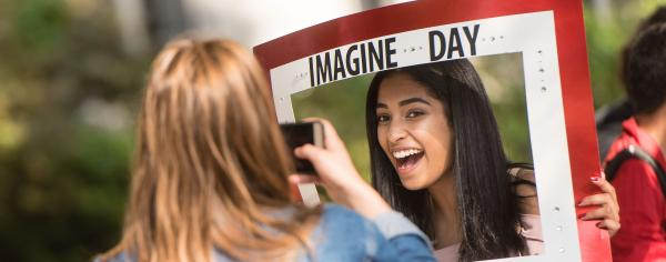 Students at Imagine UBC.