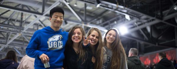 UBC students at Winter Classic 2018
