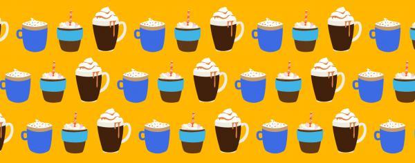hot chocolate illustrations
