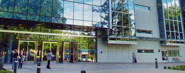 Irving K Barber Learning Centre exterior