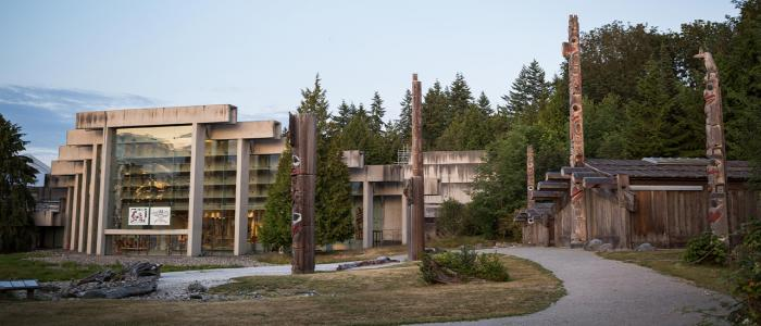 Museum of Anthropology on the UBC Vancouver campus
