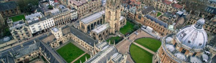 Exeter College Summer Programme in the University of Oxford