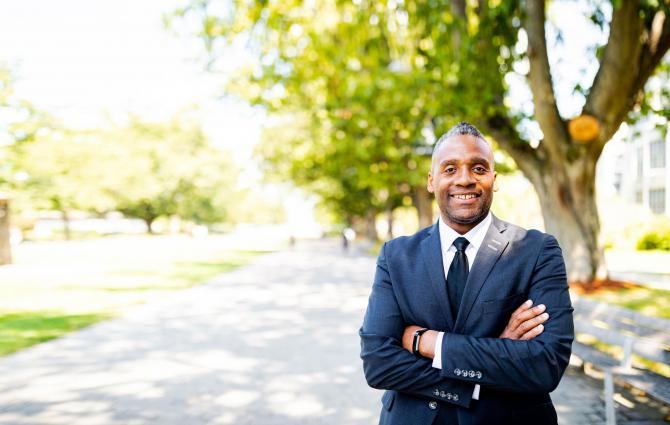 Ainsley Carry, UBC's new VP for Students