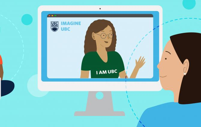 Virtual Imagine Day Illustration