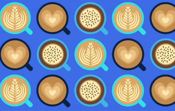 Illustrated Lattes