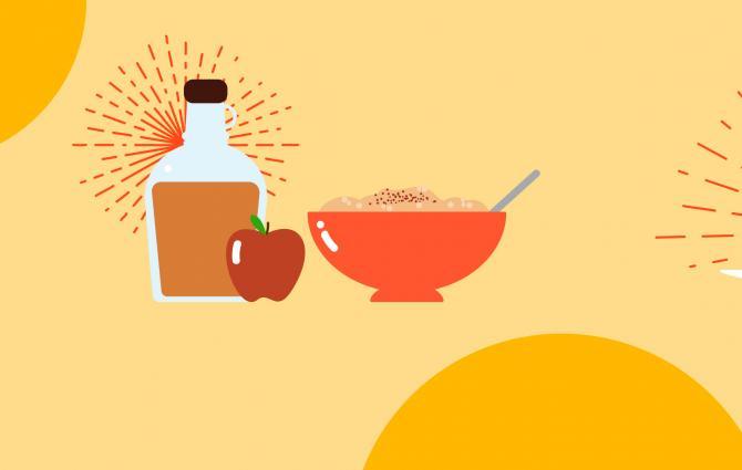 Cinnamon in foods