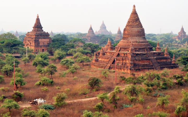 Buddhist temple ruins