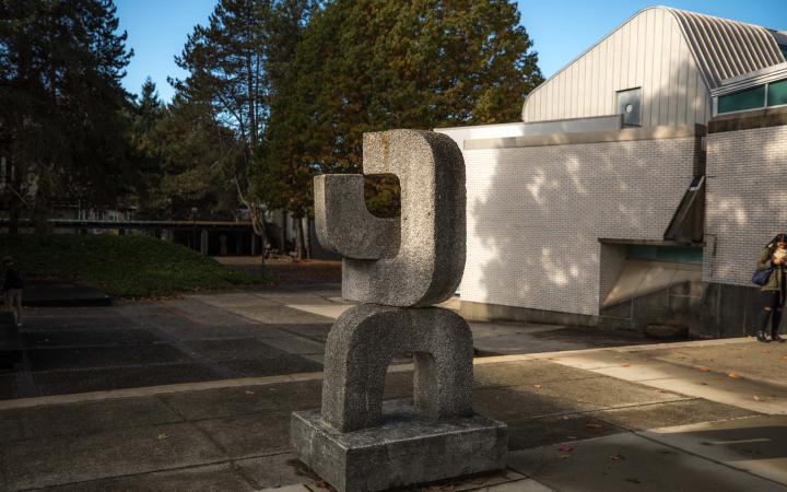Three Forms by Robert Clothier at UBC Vancouver