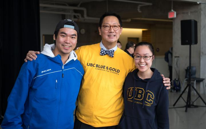 Blue and Gold campaign announcement