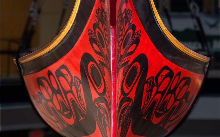 Detail shot of the Haida Looplex X Canoe