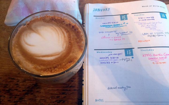 Prado Cafe Studying