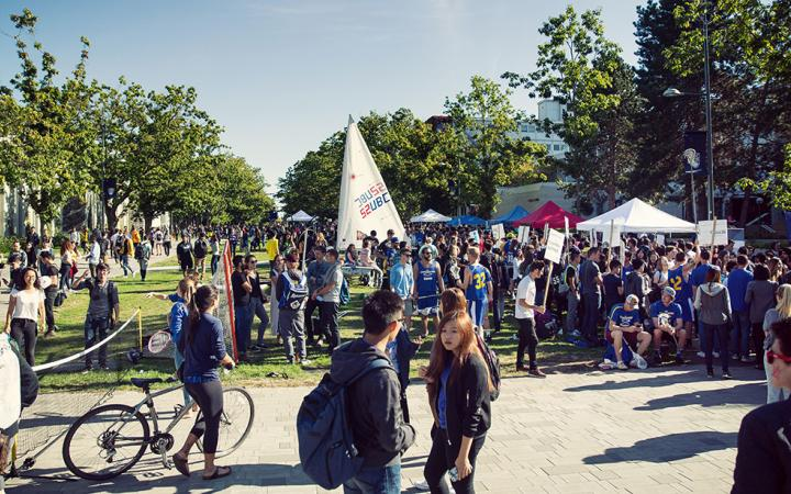 Main event at Imagine UBC