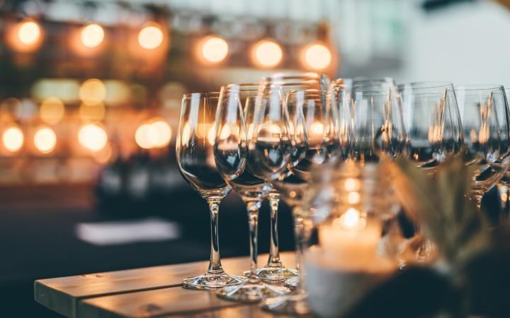 Photos of wine glasses