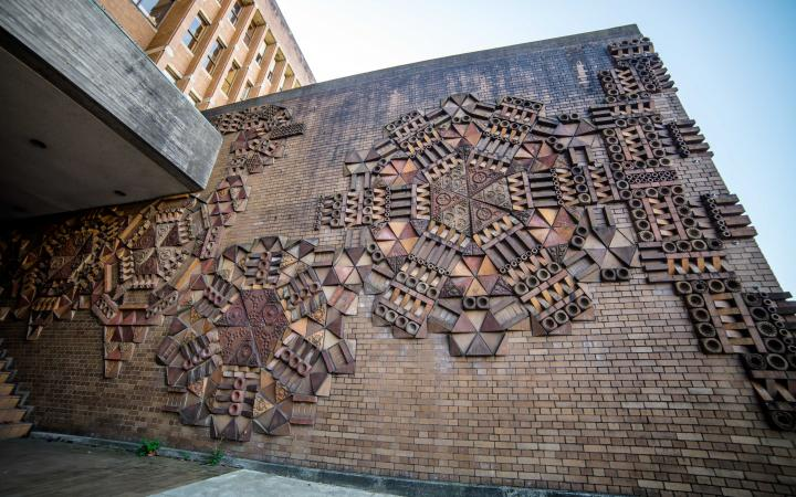 Untitled public art by George Norris