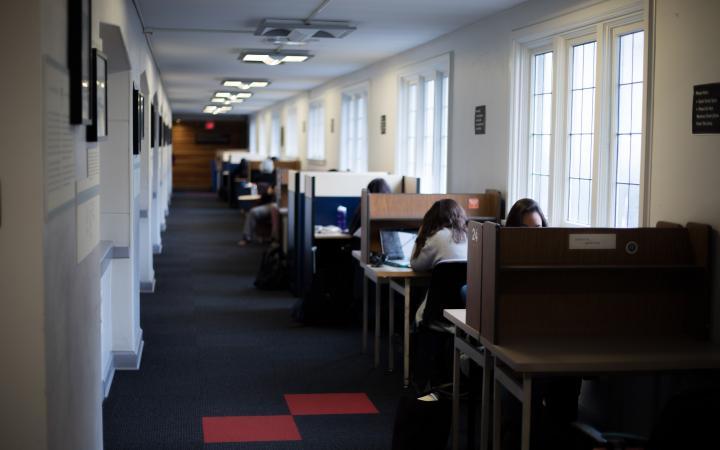 Brock Hall study space