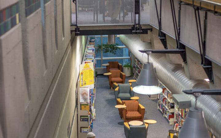 Neville Scarfe Building study space 02