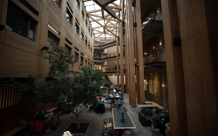 Forest Sciences Building study space