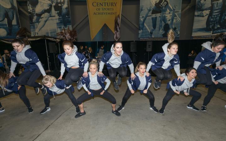 UBC dancers