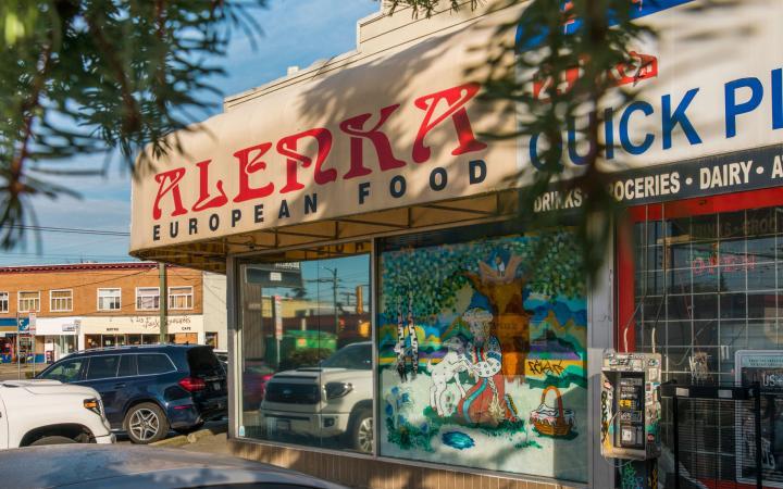 Storefront of Alenka