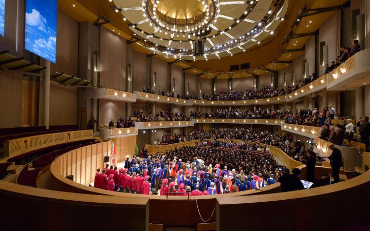 UBC Graduation Ceremony