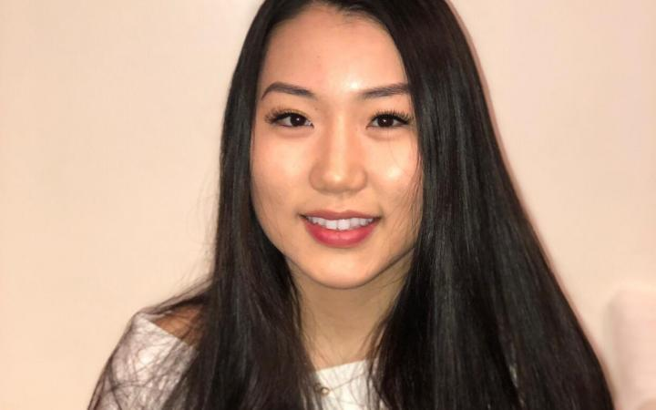 Grace Kim, a UBC student